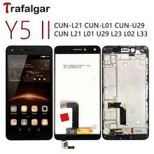 Voor Huawei Y5 Ii Lcd scherm Y5II Cun U29 L21 Touch Screen Cun L01 L02 L03 L22 L23 L33 Voor huawei Y5 Ii Display Met Frame