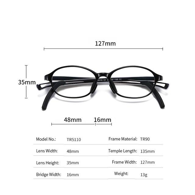 Фото 2020 очки для подростков с защитой от сисветильник tr90 оптические
