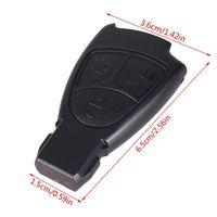3 botões de substituição remoto chave fob caso para mercedes benz c e ml classe alarme capa do carro chave escudo|Chave de ativação|Automóveis e motos -