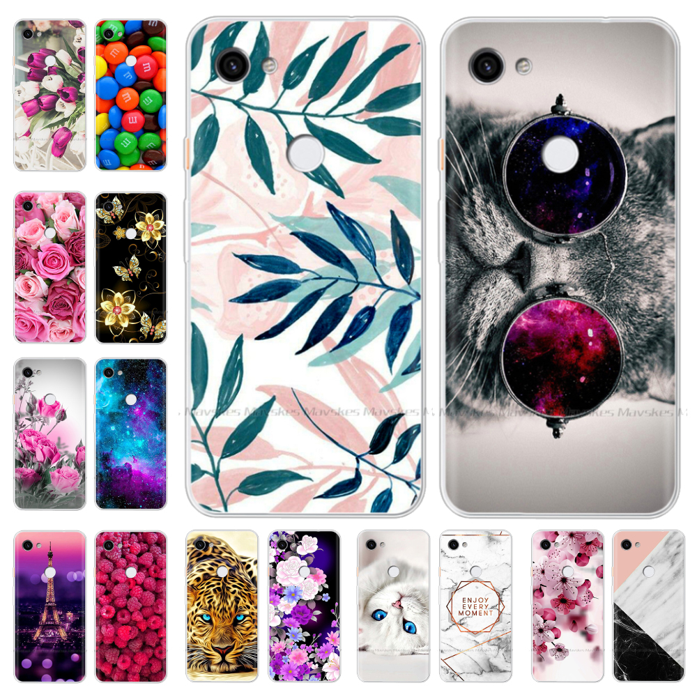 Silicone Phone Case For Google Pixel 3A XL Case Fundas Soft TPU Back Cover For Google Pixel 3A Case Coque Cover Protective Shell