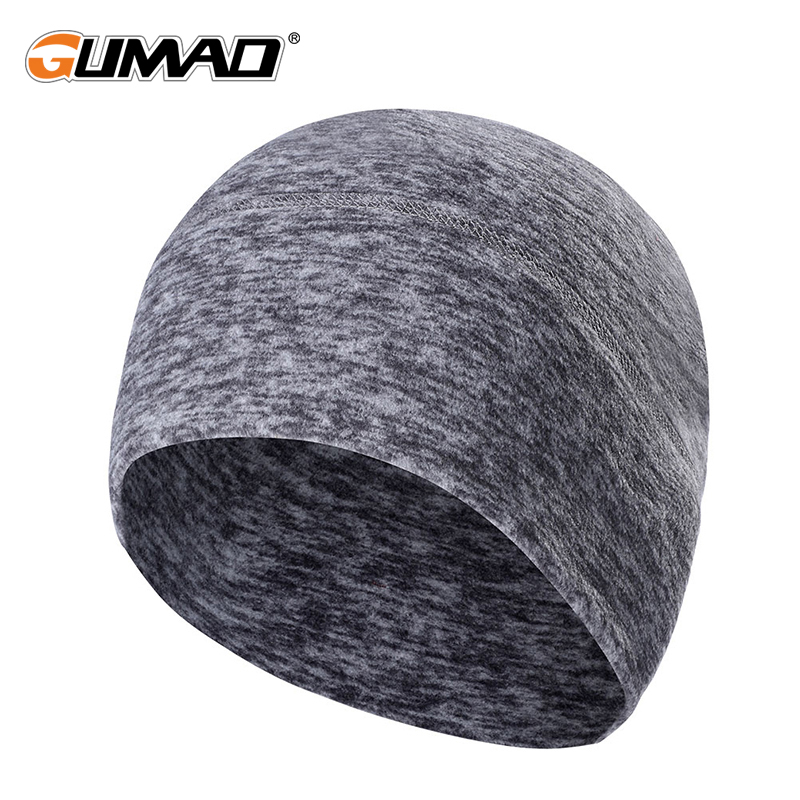 Winter Warm Running Caps Thermal Sport Hats Polar Fleece Soft Wool Snowboard Hiking Camping Cycling Windproof Skiing Men Women