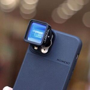 Image 4 - Анаморфный объектив Ulanzi 1,33xt, широкоформатный видеорегистратор с фильтром 52 мм, адаптер для iOS, iPhone 12 Pro Max, Android