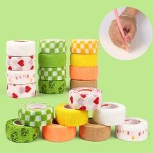 Protect 3pcs 5pcs Fingers-Tools Elasticity-Tape Fruit Jianwu-Random Colored School 8pcs/Set