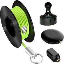 Threader magnético profissional cabo extrator snap fio guider cabo de fio executando dispositivo extrator puxando fio fácil uso mão
