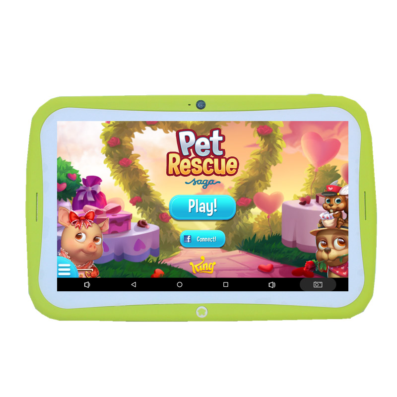 7 pollici Bambini Tablet PC M760 Doppia fotocamera 1GB + 16GB 1024x600 IPS WIFI Android 7.1.2 quad Core come regalo - 2