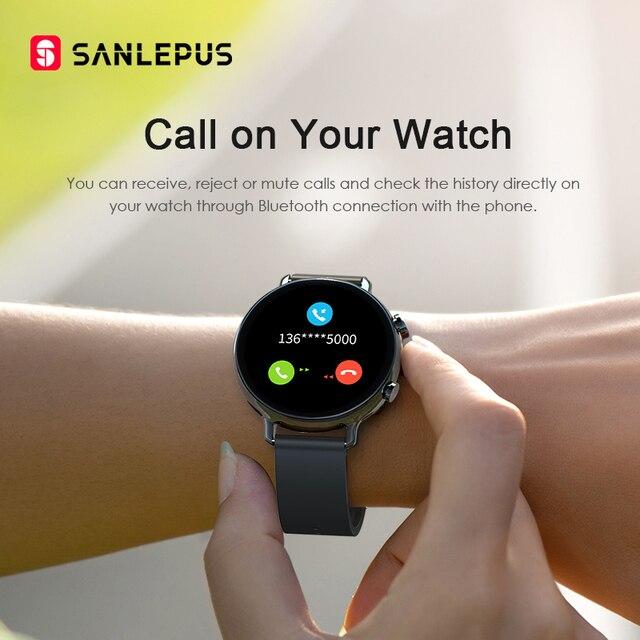 Smart Watch Bluetooth Calls Men Women Waterproof Smartwatch 2