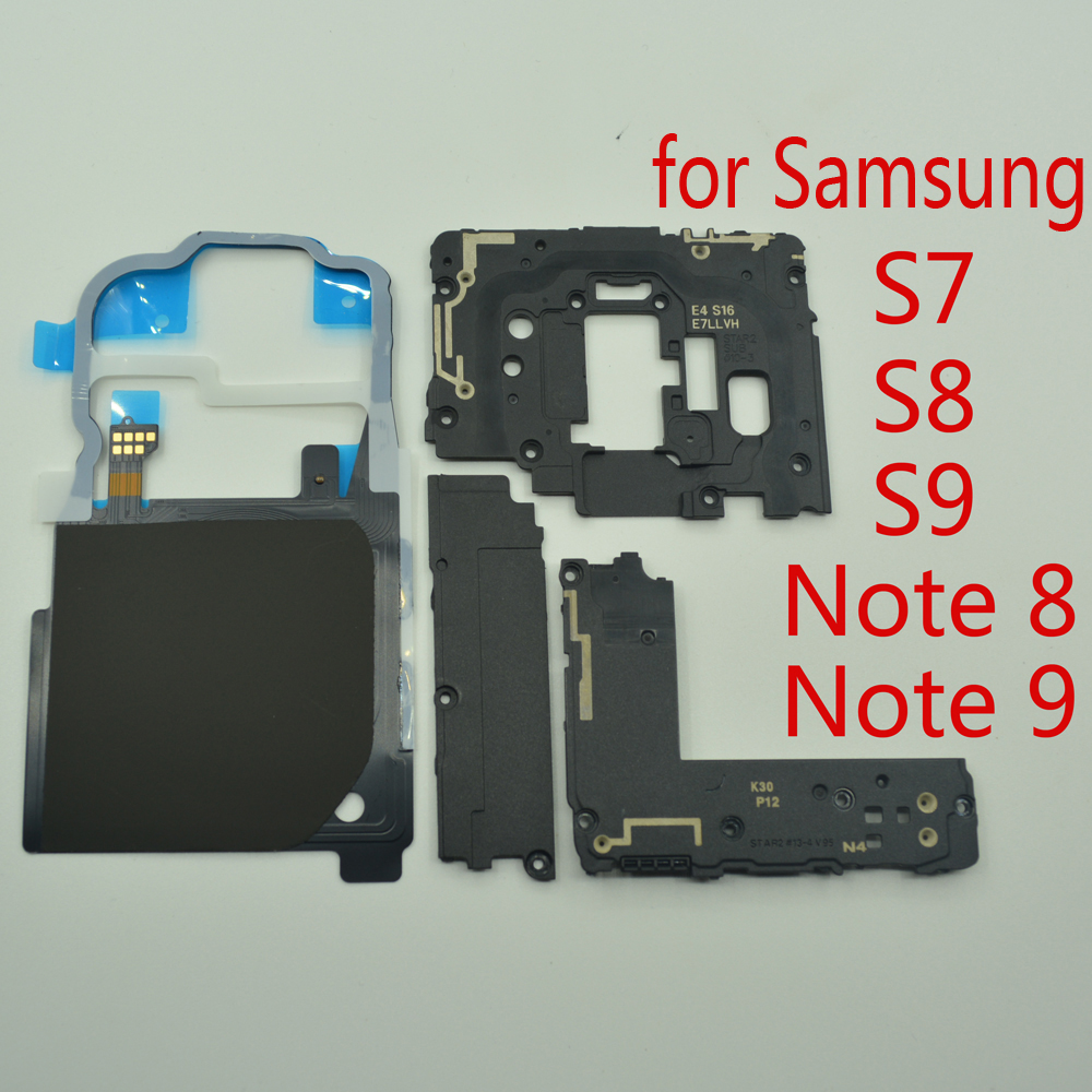 NFC Wireless Charging Antenna Panel Loud Speaker For Samsung S7 Edge S8 S9 Plus Note 8 9 Original Phone Repair Parts Flex Cables