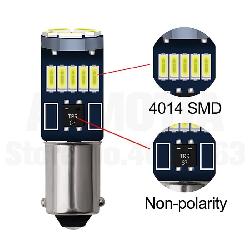 H695a30f6d3044e31901e0693b80ae37dL 2x BA9S T4W LED Car light bulb T2W T3W H5W interior Car LED License Plate light 2 LED 2835 SMD DC12V 12913 12910 12929