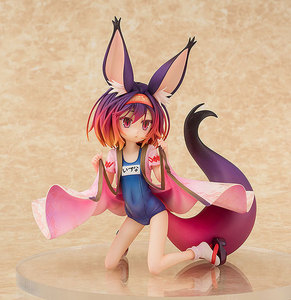 Image 2 - Anime NO GAME No LIFE Hatsuse Izuna Fox Cat girl Bunny Girl Swimsuit Ver. 1/7 Scale Painted PVC Action Figure Model Toys 20cm