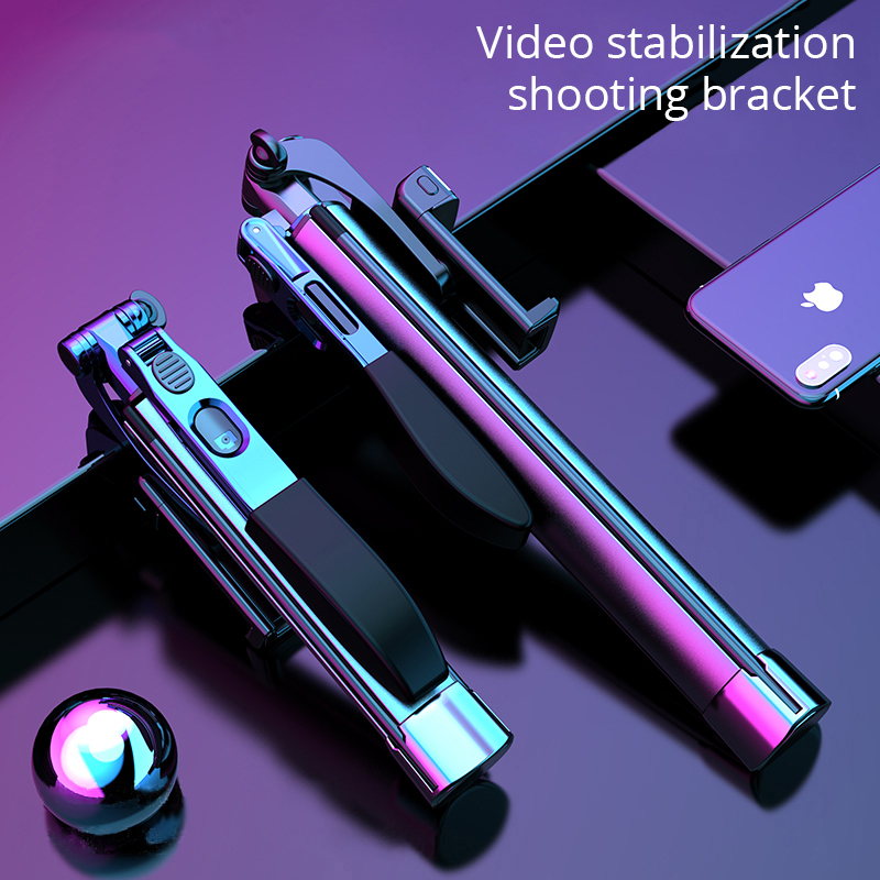 MAMEN Selfie Stick Tripod Video Stabilizer Shooting Bracket Wireless Bluetooth For Phone For Xiaomi Huawei For iPhone Foldable