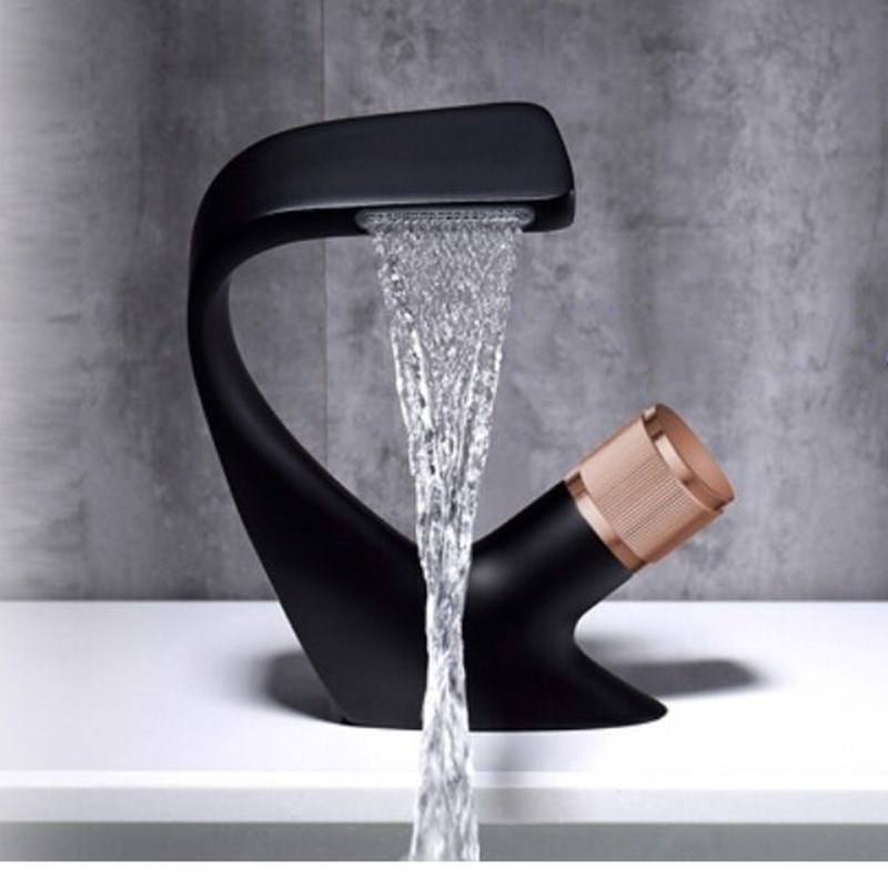 H695a73a1fe63429285798952bdadc598d Washbasin Faucet Bathroom Cold and Hot Water Simple Style Basin Faucet Tap Kitchen Bathroom Accessories