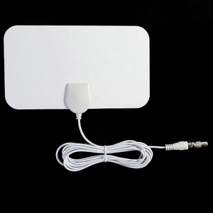 4K 200 Miles Range 25DB HD TV Antennas Indoor Mini HD Digital TV Antenna Signal Booster For VHF UHF HDTV Aerial TV Receiver