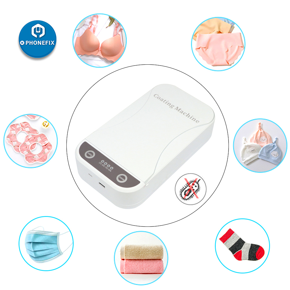 UV Sterilizer Disinfection Box Ultraviolet Light Sterilization For Jewelry Watch Phone Mask Disinfector Nano Coating Machine