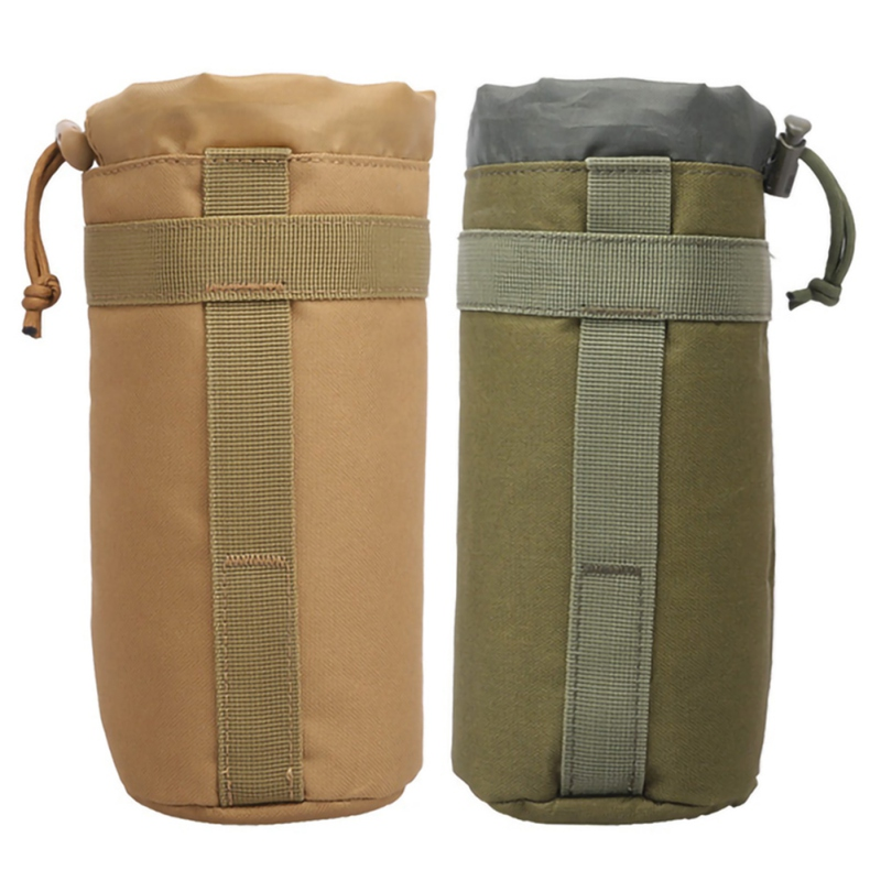 Sport Bags Cover 2L Portable Water Bottle Pouch Camping Kettle Bags For Backpack Vest Belt Travel Cycling Hiking Accessories