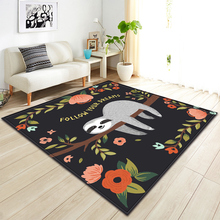 Nordic Carpet Home Living Room Bedroom Bedside Mat Child Anti-slip 3D Large