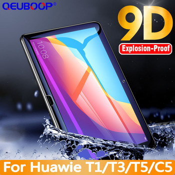 9D For Huawei MediaPad T5 10 glass T3 10 Honor Play Pad 2 9.6 8 7 Tablet Tempered Glass T1 8.0 10.1 C5 8.0 10.1 Screen Protector image