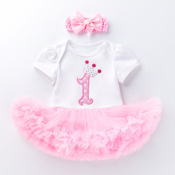 2020 Girls Tutu Costume Dress For Baby Girls Crown Dresses Princess Party Bow Wedding Dress 1 year Girl Birthday Newborn Clothes baby girl baptism gown 2015 summer style girls pink white sequin tutu party wedding dresses 1 year birthday dress 12m 6y