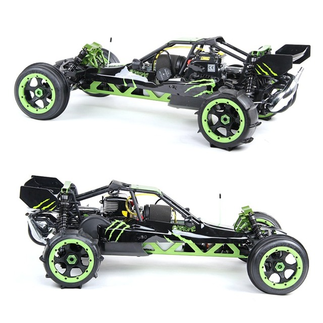 1/5 scale RC baja desert buggy RTR Rovan 5B 305AS  30.5cc gas engine ready to run buggy radio control off-road car hoby model