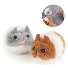 Собака плюшевая игрушка бег Мышь животных в форме бег интерактивные Мультяшные