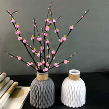Plastic Vase Arrangement-Decoration Flower-Basket Imitation-Ceramic Hold Can't