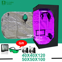 Grow-Tent Plant-Growth Indoor Led 40x40 Bottom-Vents-Plant BEYSLION 50x50 with