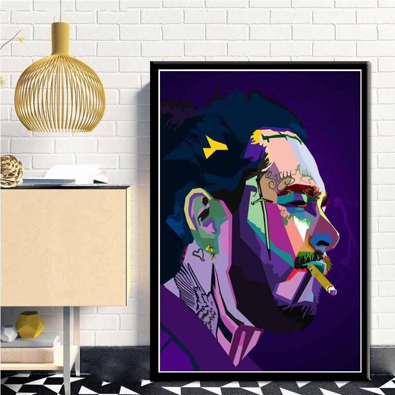 dekoration post malone poster photo
