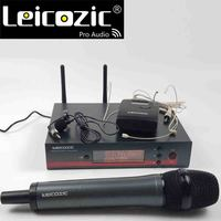 Leicozic True diversity 135G3 100G3 g3 Handheld Microfone UHF Wireless Microphone System Headset mic Lavalier clip microfono Mic