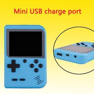 Image 5 - Retro Mini Di Động Chơi Game Cầm Tay 8 Bit Màn Hình Màu LCD 2.8 Inch Trẻ Em Màu Video Game Người Chơi Xây Dựng năm 168 Trò Chơi