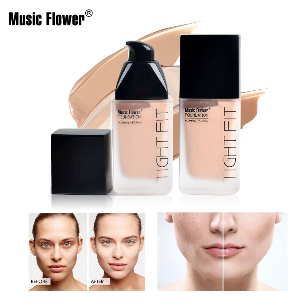 Music Flower Multi-effect Concealer Foundation Moisturizing Brightening Makeup Skin Tone Velvety Smooth
