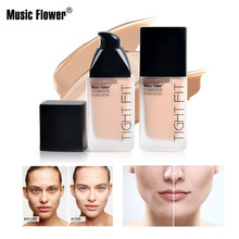 Music Flower Multi-effect Concealer Foundation Moisturizing Brightening Makeup Skin Tone Velvety Smooth