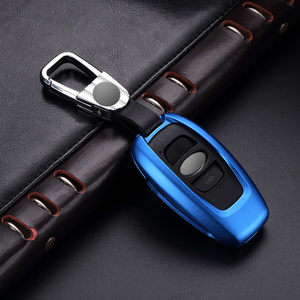 Estuches para llave de coche de aleación de aluminio de alta calidad para Subaru Forester 15 BRZ Impreza WRX tillo levog Outback accesorios para llaves