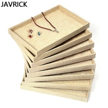Jewelry Display Board Multi-function Tray Storage Retro Watches Earrings Brooch Bracelets Container