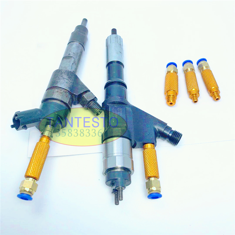 4PCS Common Rail Injector Diesel Oil Return Collector Joint For BOSSCH DENSSO, Common Rail Injector Diesel Oil Collecting Tool
