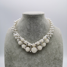 YD&YDBZ New Pearl Necklace For Women Jewelry Fashion Luxury Choker Bohemia Style Necklaces Short Chains Wholesale Jewellery fashion sunflower pendant short necklaces for women pearl acrylic beads necklace bohemia ethnic choker fashion jewelry wholesale