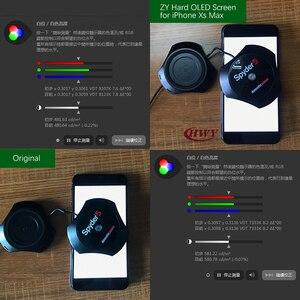 Image 5 - ZY AMOLED شاشة آيفون XS X LCD عرض السائل OLED ثلاثية الأبعاد تعمل باللمس آيفون XS ماكس XR الجمعية أجزاء سهلة التركيب