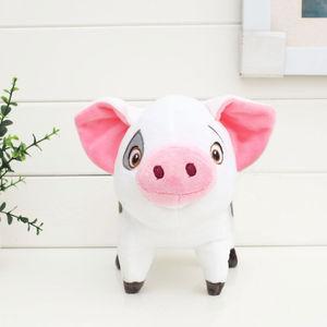Moana Princess Plush Toys 20cm Pua Pepa pink Pig Stuffed dolls for kids gift(China)