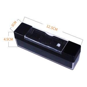 Антистатическая щетка для чистки виниловых пластинок, наборы для удаления пыли для переворачивающихся платформ