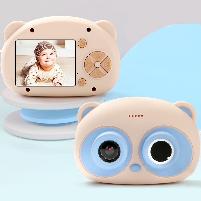 Portable 24 Million Pixel Wifi New Mini Children's Camera Cartoon Big Screen Display HD Digital
