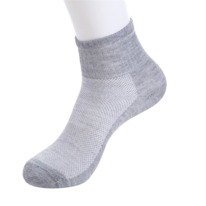 Men's Socks Invisible Socks Men's Summer Breathable Thin Men's Boat Socks Hot 2019 New Sweat Deodorant Specials