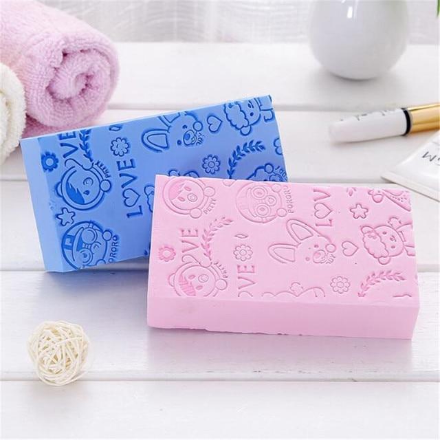 Soft Body Scrubber Bath Exfoliating Sponge Shower Brush Skin Cleaner Cleaning Sponge Pad Body Dead Skin Remover Bathing Supplies 5