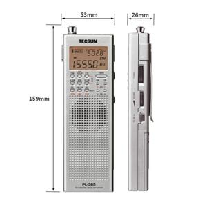 Image 3 - Original tecsun PL 365 mini portátil dsp etm ats fm estéreo mw sw mundo banda rádio estéreo pl365 cor cinza I3 002