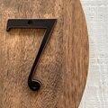 101 мм цифры на дверь черный дом номер дверь знак большой Huisnumer открытый адрес почтовый ящик номера современный дом квартира знаки металличес...