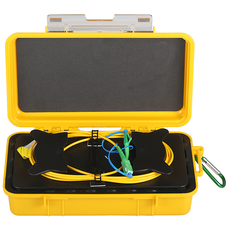 SC/APC-LC/APC OTDR Zone Eliminator,Fiber Rings ,Fiber Optic OTDR Launch Cable Box 500M 1Km 2Km Single Mode 1310/1550nm