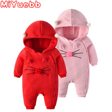Baby Girls Clothes Romper Cotton Newborn Toddler Rompers Baby Winter Clothes Cute Infant New Born Winter Clothing Christmas Baby