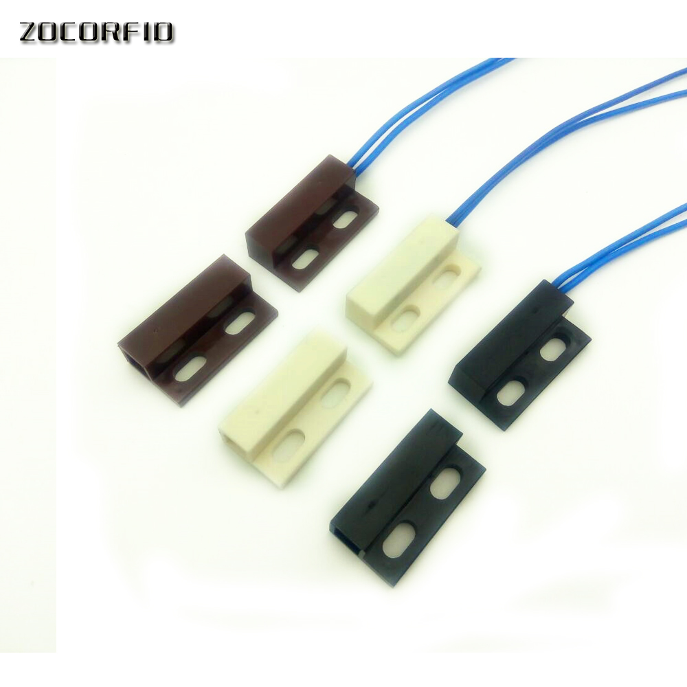 Wired Door Window Magnetic Sensor Switch Work AC85-220V With PTSN And GSM Alarm System And Cabinet