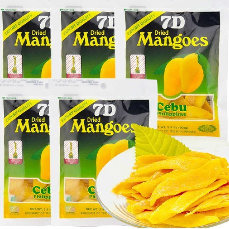 2019 100g Philippine Dried Fruit Mango 7d Cebu Philippines Naturally Delicious Ripened Organic Mangoes For Healthy Vegetarian