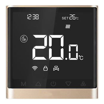 Wifi Thermostat Smart APP Control Temperature Controller Electric Floor Heating Thermostat with Press Screen