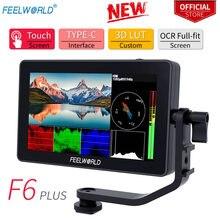 Монитор для камеры feelworld f6plus 55 дюйма ips 4k hdmi 1920x1080
