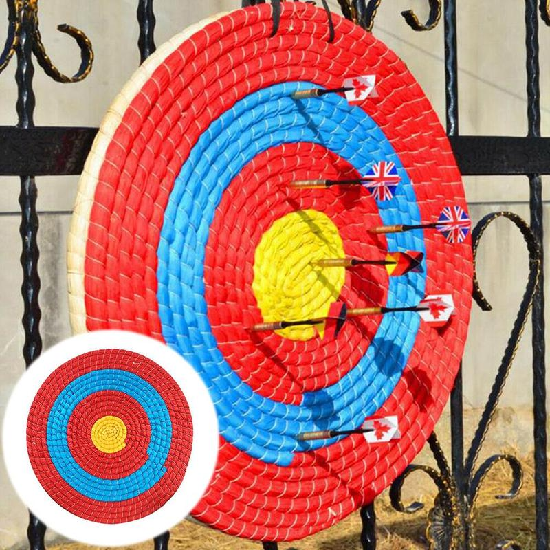 1pcs 55*2cm Outdoor Sports Hunting Shooting Target Archery Target Board Straw Grass Target Arrow Target Straw Products