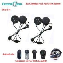 2 pçs freedconn acessórios da motocicleta fone de ouvido interfone macio com microfone para FDC-01VB T-COMVB TCOM-SC colo tcom02